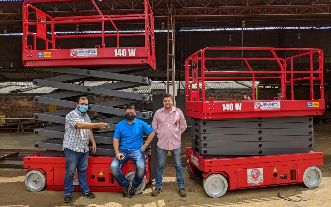 ¡ALO Lift da la bienvenida a Colombia! Entrega de primeros equipos ALO Lift 140 W