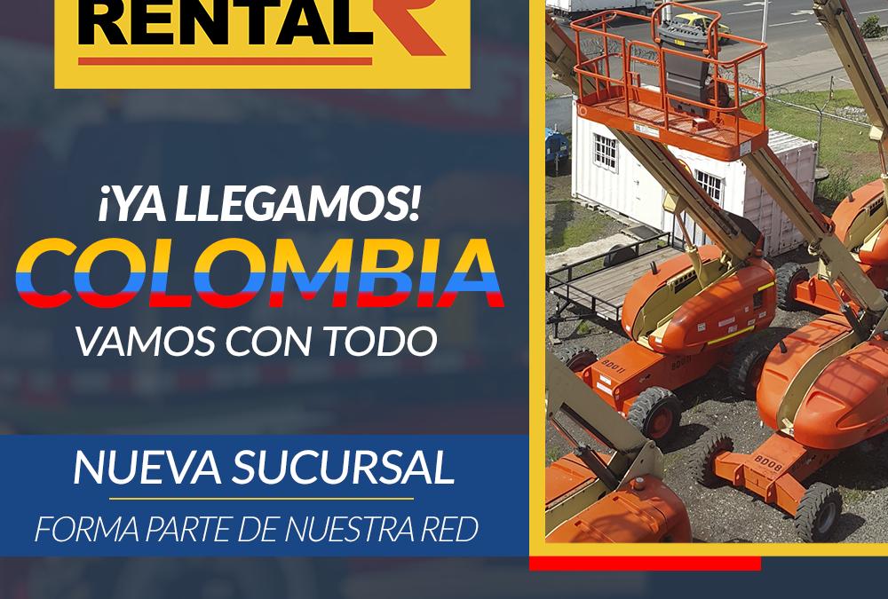 Forme parte de nuestra Red ALO Rental Colombia