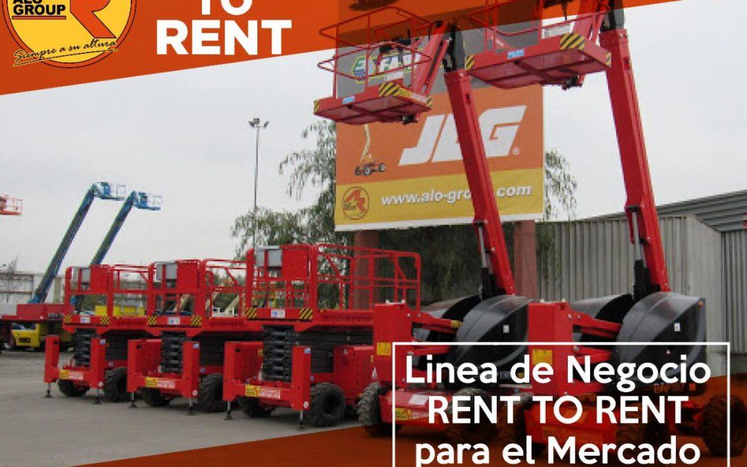 Acceda a la nueva línea de negocios RENT TO RENT para el mercado de altura en ALO Colombia