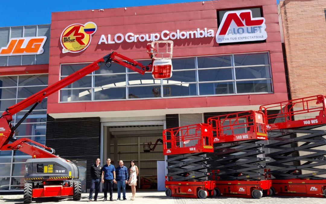 ALO Colombia entrega equipos ALO Lift a distribuidor CGB SAS para Medellín
