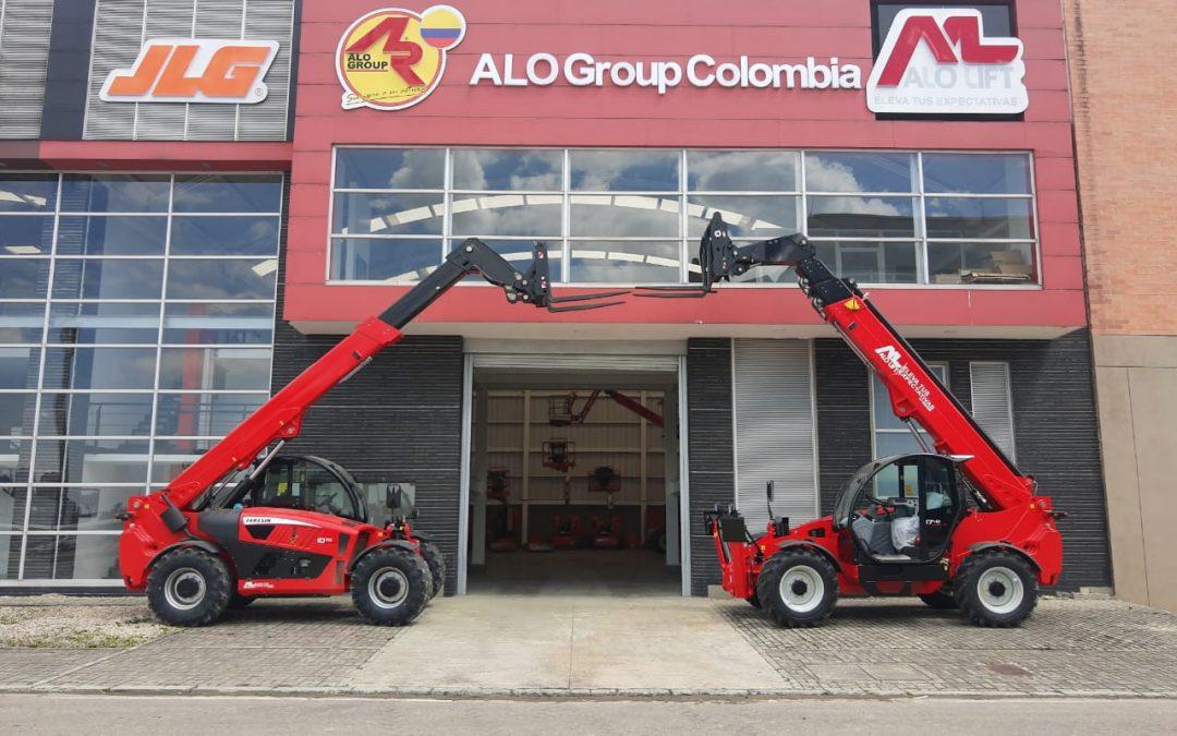 ALO COLOMBIA recibe embarque con Manipuladores Telescópicos ALO Lift by Faresin