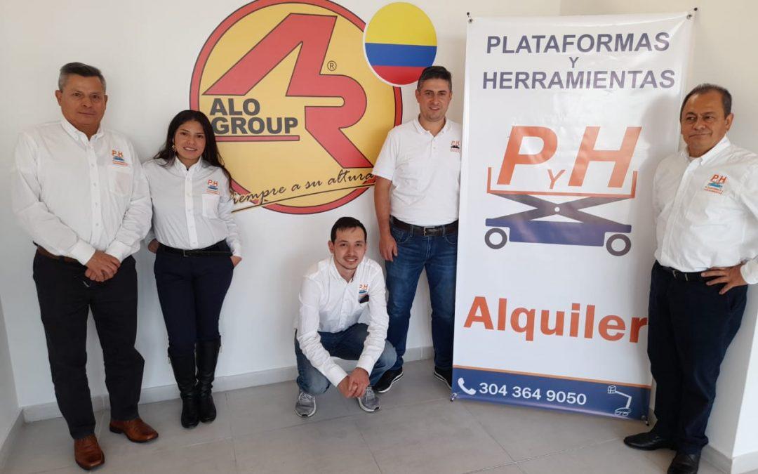 Capacitación Comercial ALO Lift a Plataformas&Herramientas distribuidores para Cundinamarca y Bogotá D.C