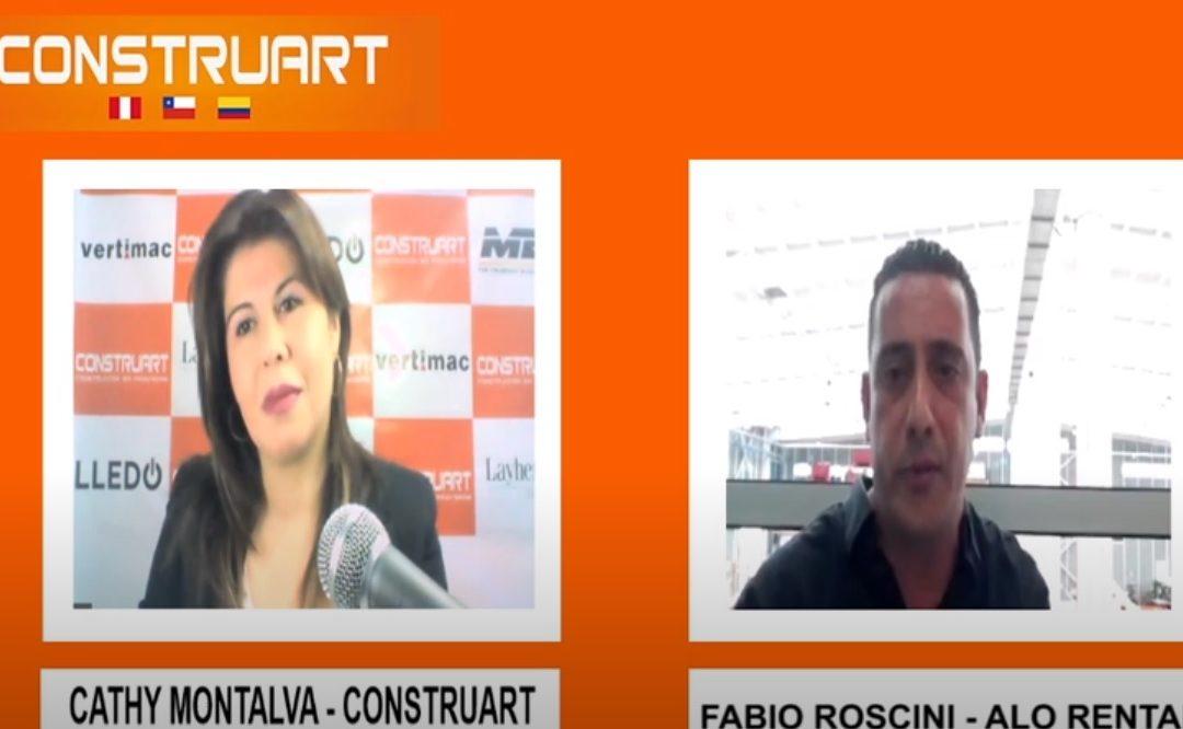 Entrevista Construnoticias a Gerente ALO Colombia Fabio Roscini