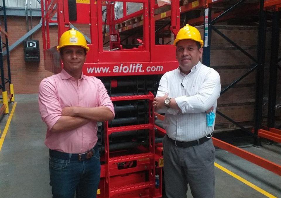 ALO Lift 140 WS soluciones eléctricas en altura para Centros de Distribución