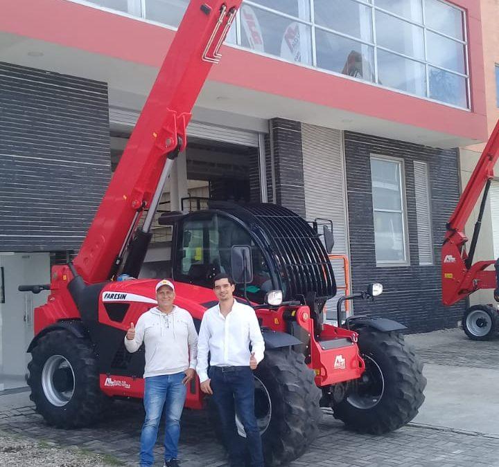 ¡En Grandes Proyectos Mineros! ALO Colombia con Telehandler ALO Lift by Faresin 10.70 en proceso extractivo