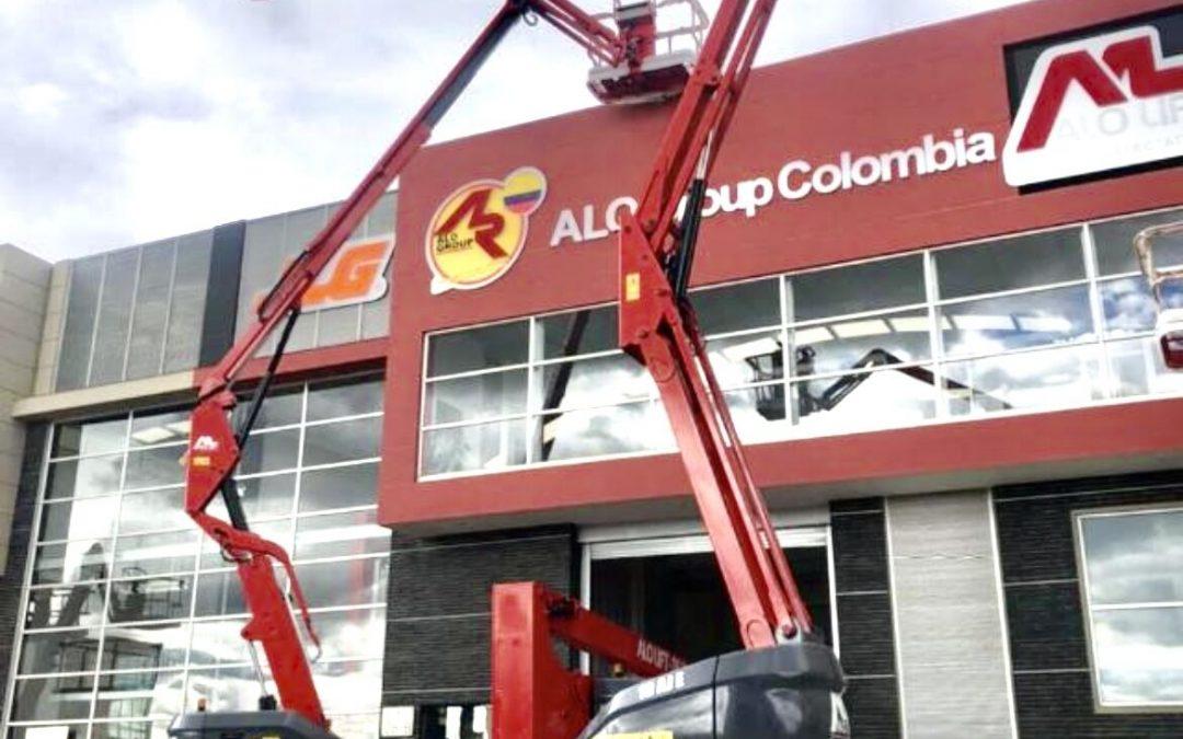 ¡Oportunidad ALO Colombia! Cotice Brazos Articulados ALO Lift Nuevos Eléctricos & Diésel