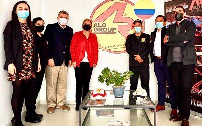 ALO Colombia recibe en Casa Central a Directores Alejandro Zenklussen y Sandra Franco