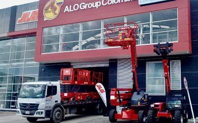 Venta y Despacho Elevadores Tijeras Eléctricos ALO Lift 140 WS a distribuidor de Bogotá P & H