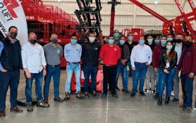 ALO Colombia recibe visita de Jefe Técnico ALO Lift Felipe Caro para capacitar a equipo comercial y de servicio
