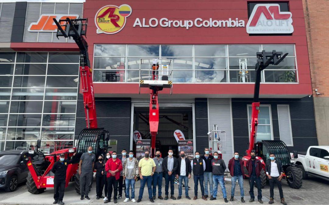 ALO Colombia: Un éxito en altura 1er Open Day con pruebas de equipos ALO Lift