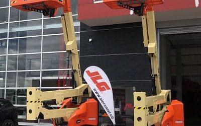 ALO Colombia recibe embarque con Brazos Articulados Eléctricos JLG E450AJ para venta