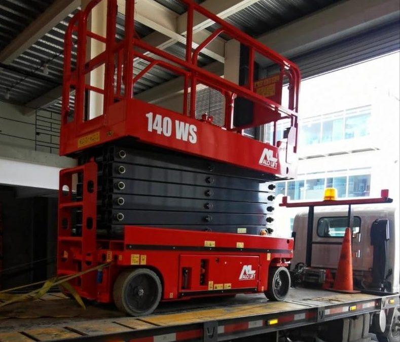 ALO Colombia continúa entregando venta de equipos ALO Lift 140 WS a CGB SAS para proyectos en la costa